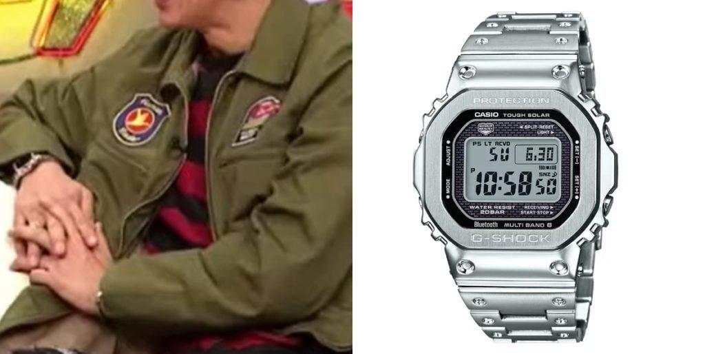 さんタク キムタクの腕時計 Gショック