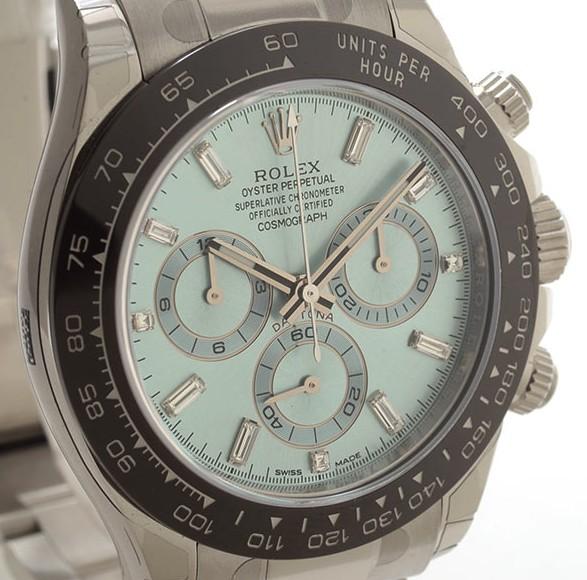 【デイトナアイスブルー】Ref.116506A(ダイヤ)の評価と人気《定価》