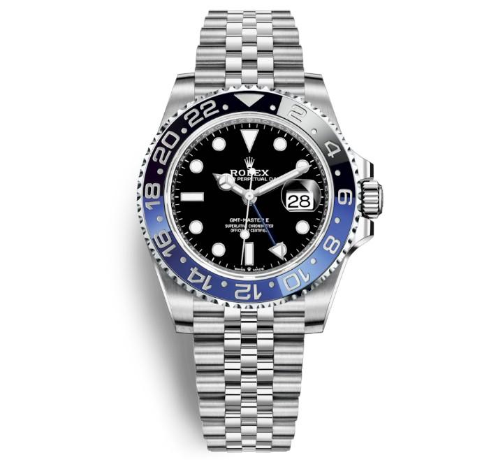 free shipping d13b5 d8dcc GMTマスター2青黒ジュビリー】Ref.126710BLNRの評価と定価 ...