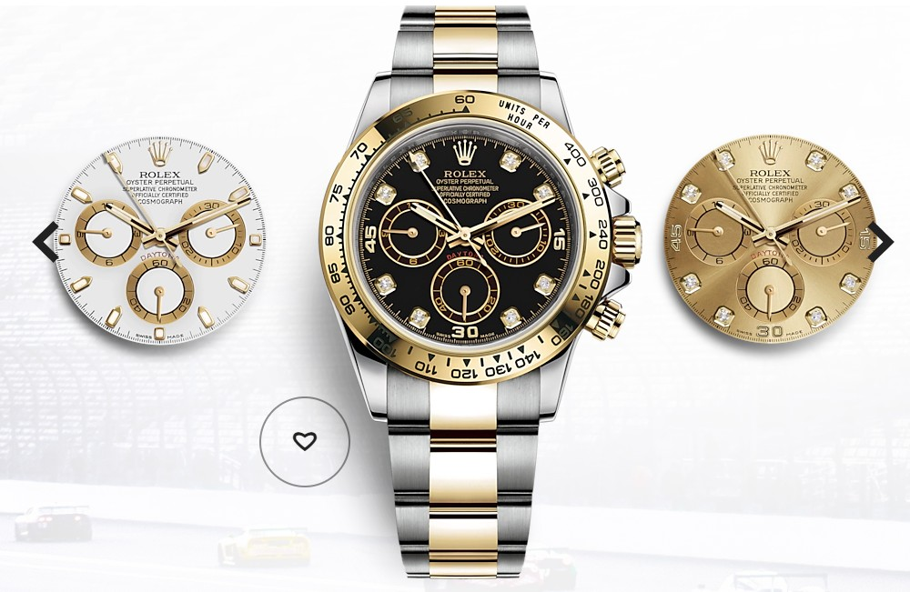 ロレックス 時計を設定する
