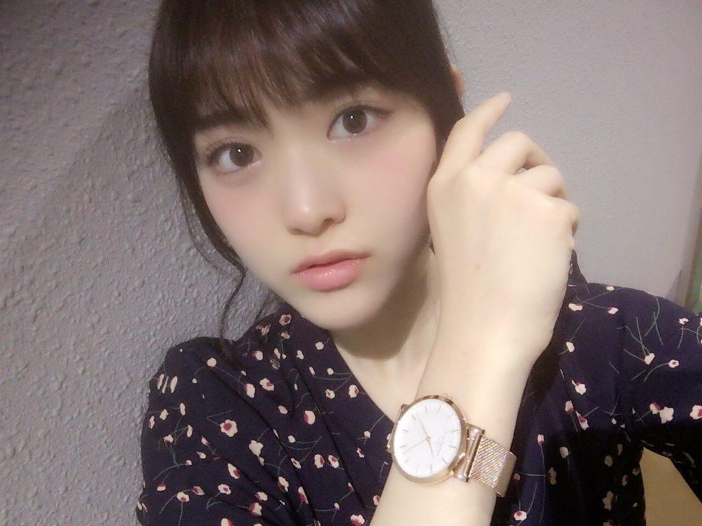 松村沙友理 腕時計