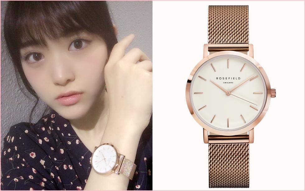 松村沙友理(さゆりん)の腕時計一覧!着用画像あり、価格や購入方法も