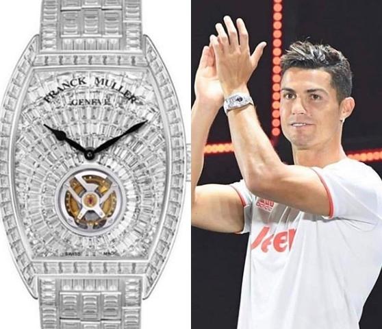 クリスティアーノ・ロナウド 腕時計