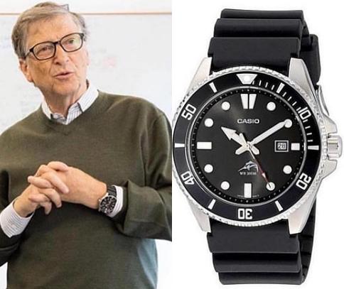 ビル・ゲイツ 腕時計