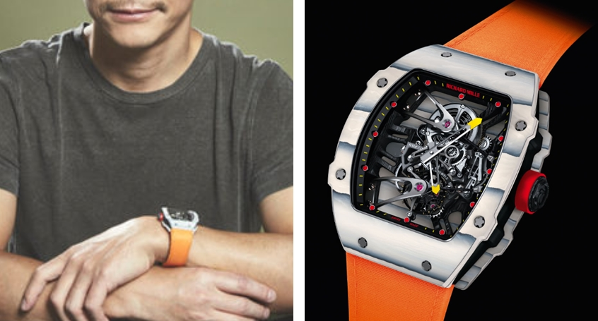 前澤友作 腕時計