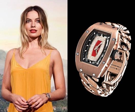 マーゴットロビー 腕時計