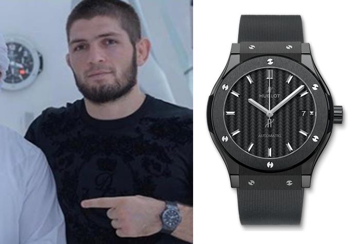ハビブ・ヌルマゴメドフ ウブロ腕時計