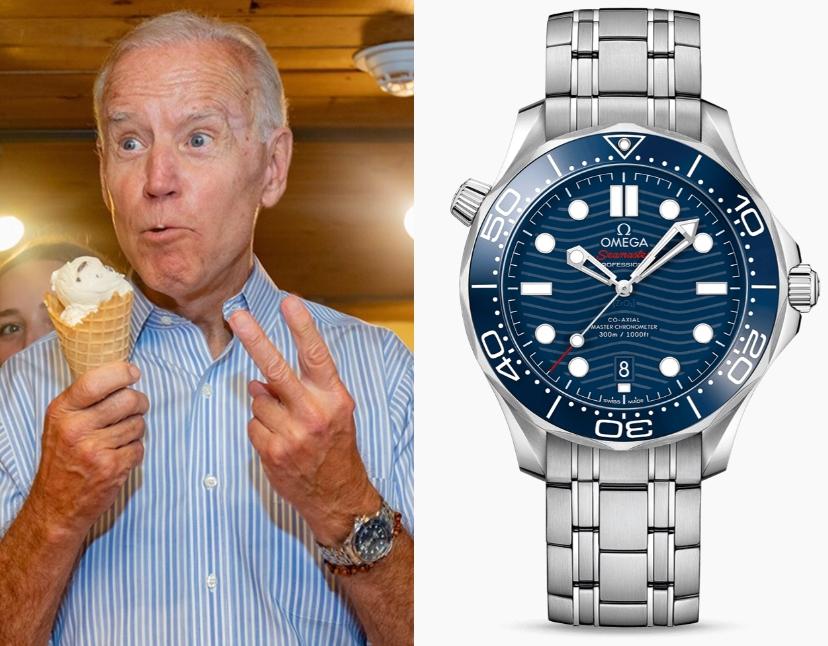 ジョー・バイデン 腕時計