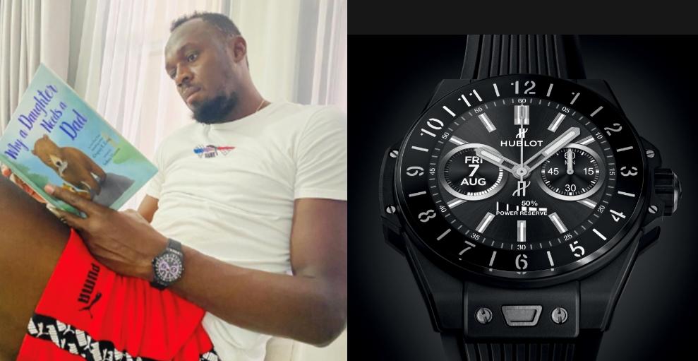 ウサインボルト腕時計