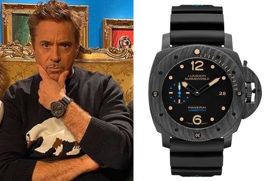 ロバート・ダウニー 腕時計