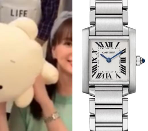 多部未華子 腕時計