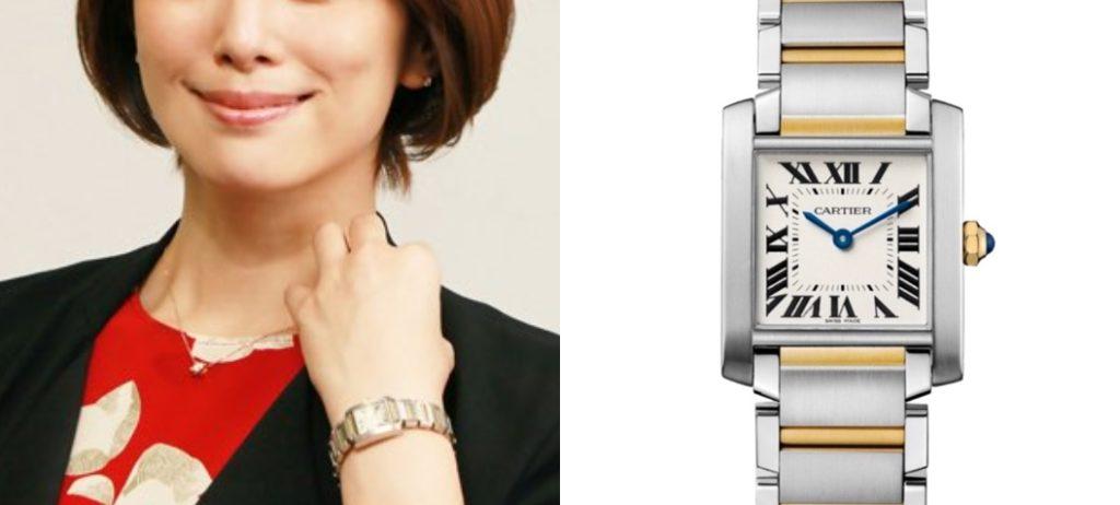 米倉涼子 腕時計
