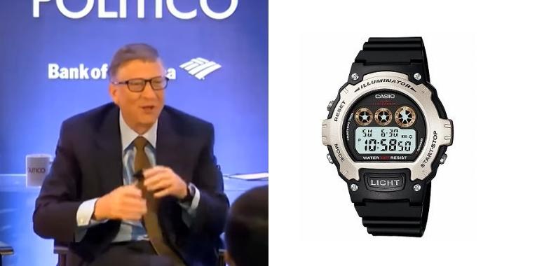 ビルゲイツ 腕時計