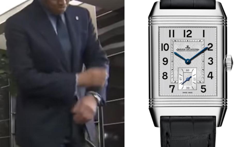 織田裕二 腕時計 ジャガールクルト