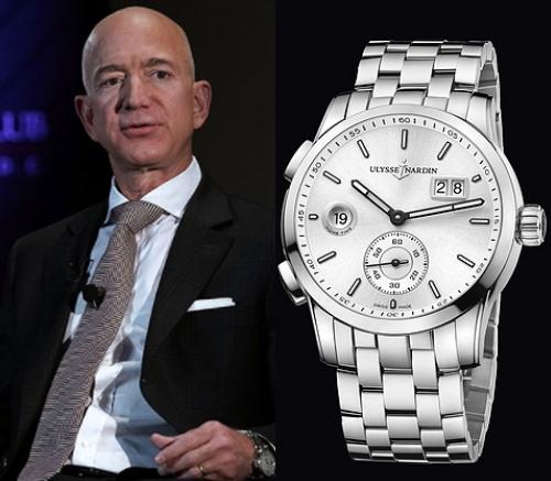 ジェフべゾス 腕時計