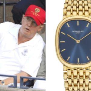 トランプ大統領 腕時計