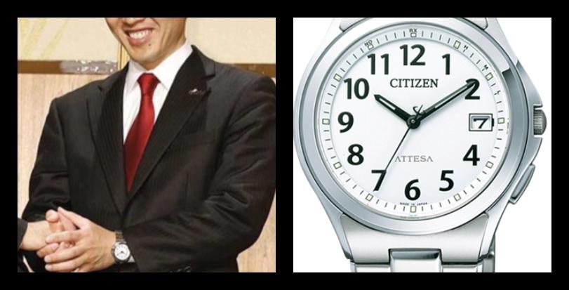 【大阪府知事】吉村洋文さんの腕時計